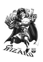 monochrome messi by goweliang