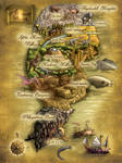 Dinosaur Jazz map