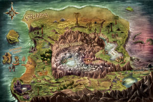 Ashling World Map by goweliang