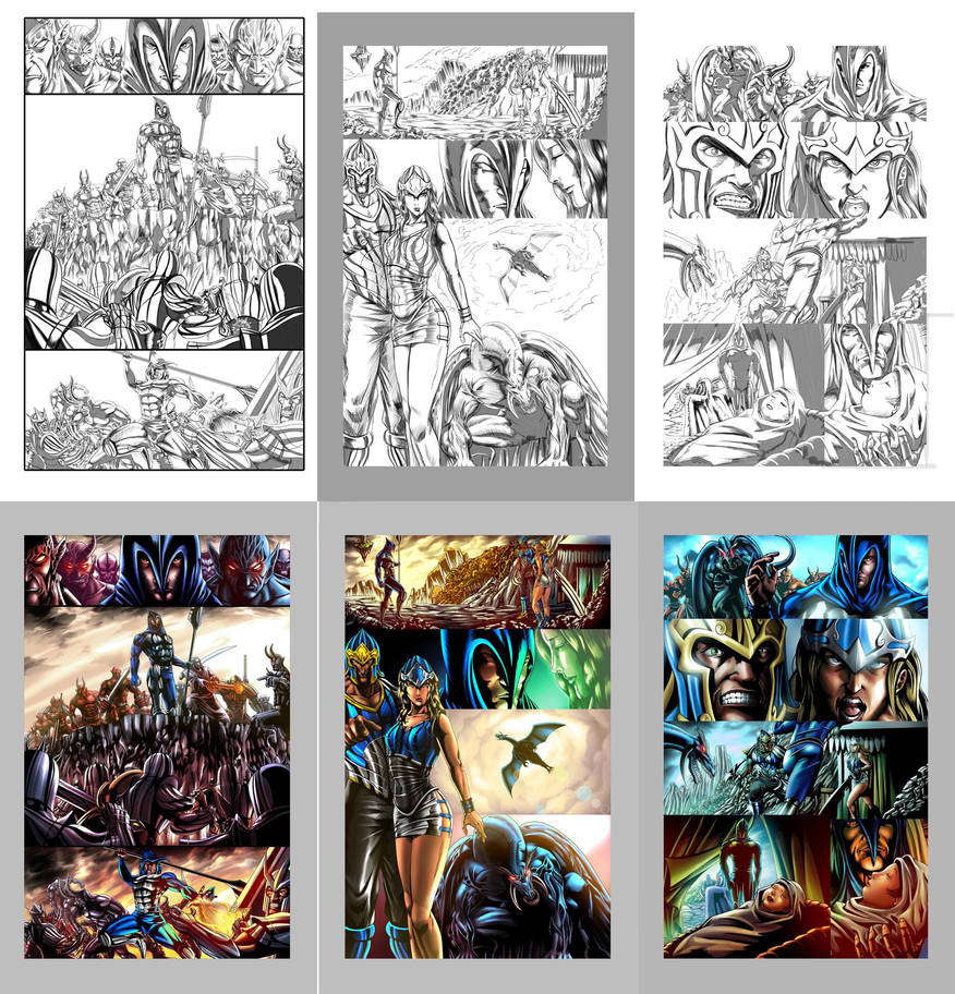 Demons Revenge Comic by goweliang