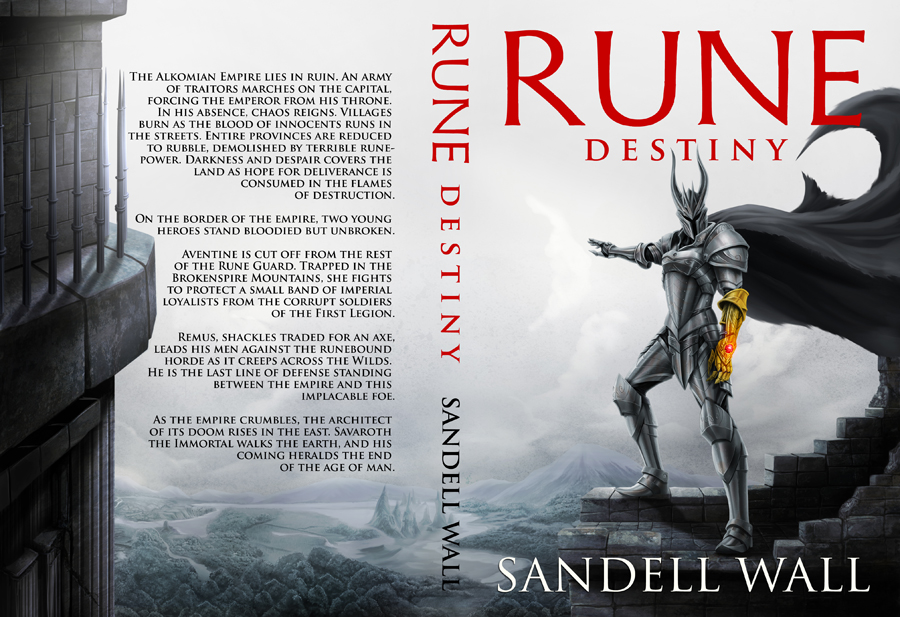Rune Destiny Full Cover 6x9 Copy by goweliang