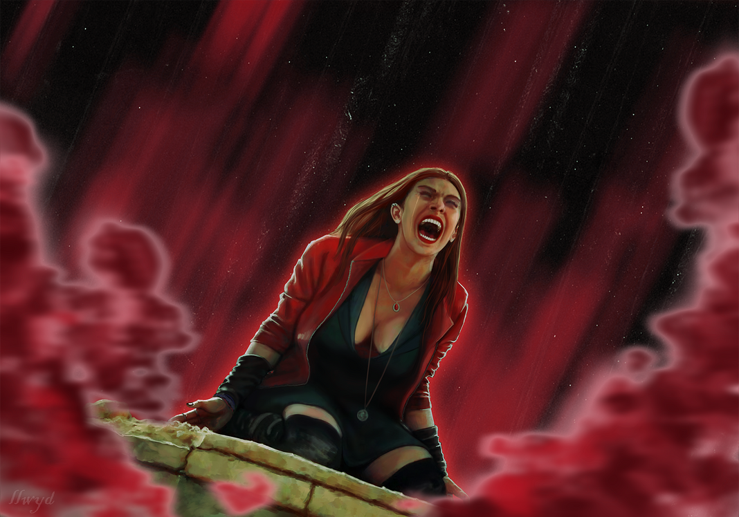 Wonderful Wallpaper Marvel Scarlet Witch - wanda__scarlet_witch__avengers__age_of_ultron_by_kletka-d8su909  Graphic_986920.png