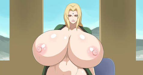 tsunade big boobs