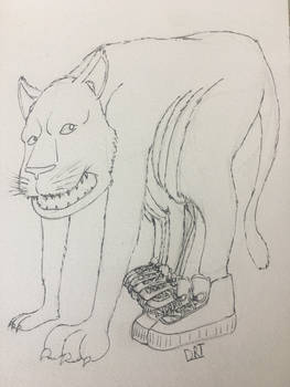 r/Icandrawthat 8-legged Tiger