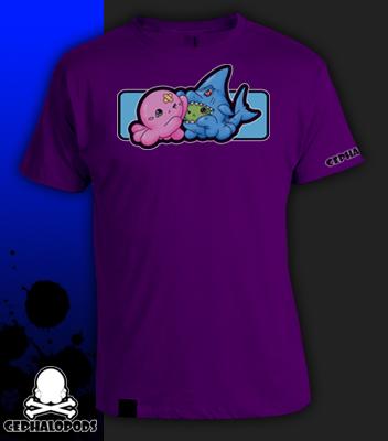 B-Movie Cephalopods Tshirt