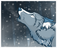 It's snowing icon by nightspiritwing