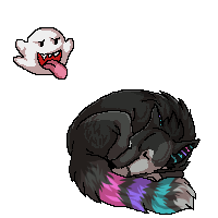 Foamyperry commission pixel by nightspiritwing