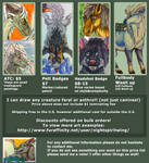 Badge Commission Price guide by nightspiritwing