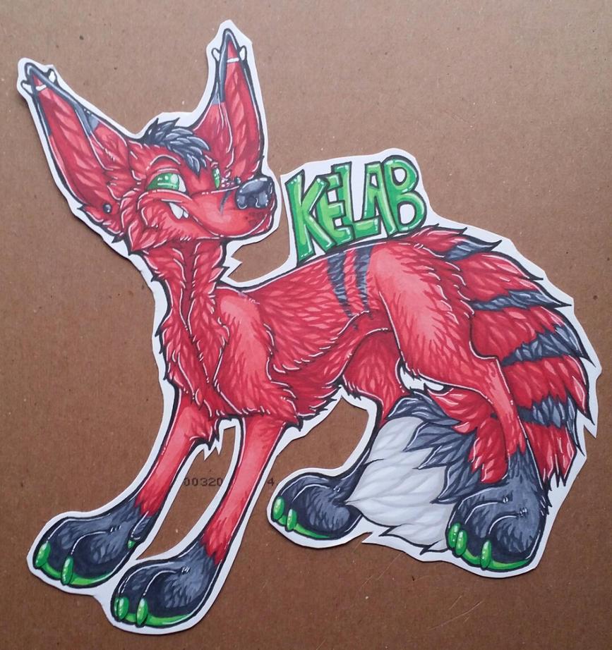 Kelab derp badge by nightspiritwing