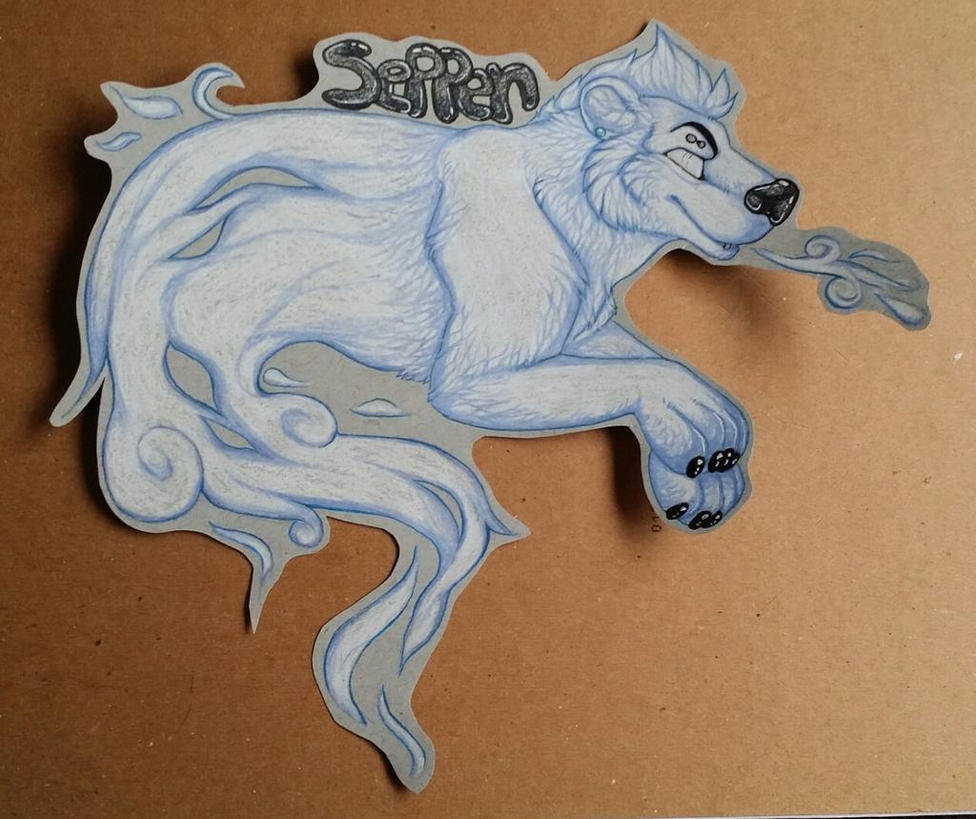 Seppen ghost badge by nightspiritwing
