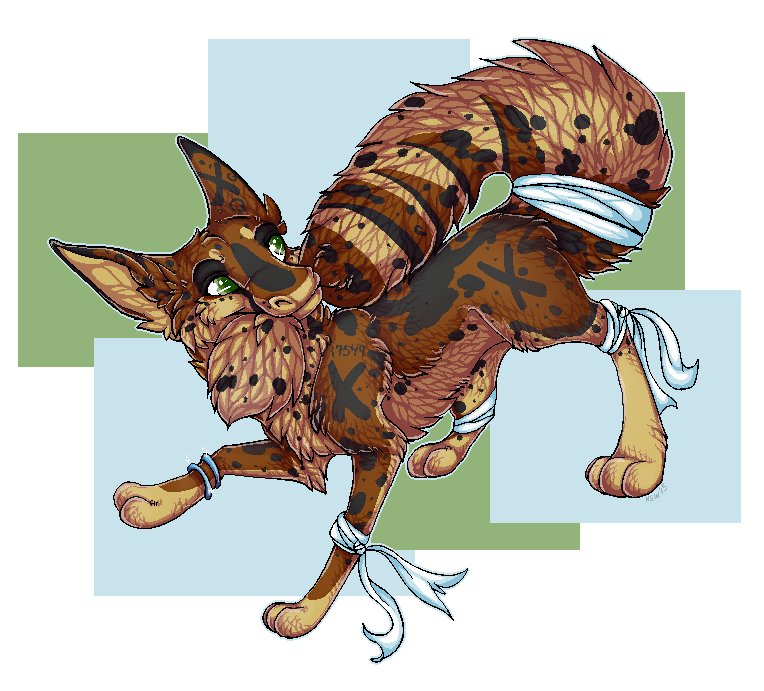 Circuitcat pixel comm by nightspiritwing