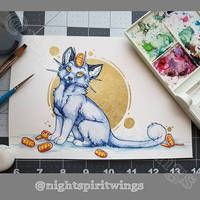 Meowth painting