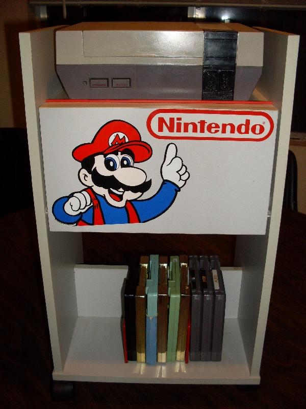Nintendo Storage Cabinet by AJD-262 on DeviantArt