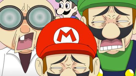 Mario visits the Internet