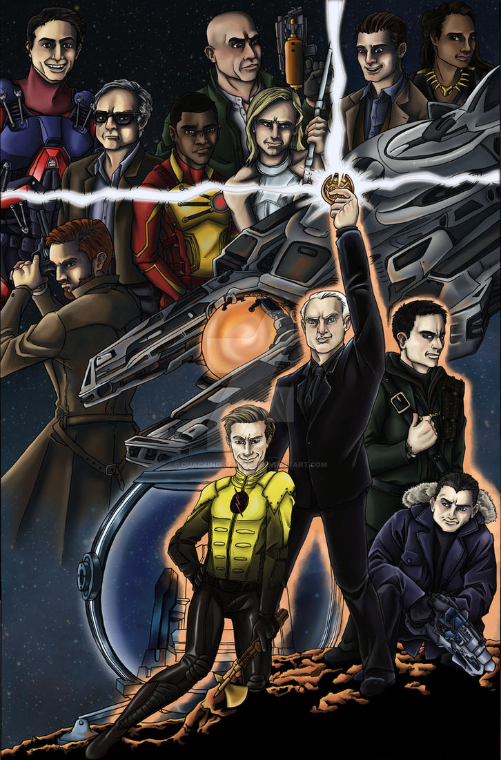 DC's Legends of Tomorrow: The Legion of Doom by QuackingRussians