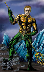 Aquaman: King of the Seas Colored
