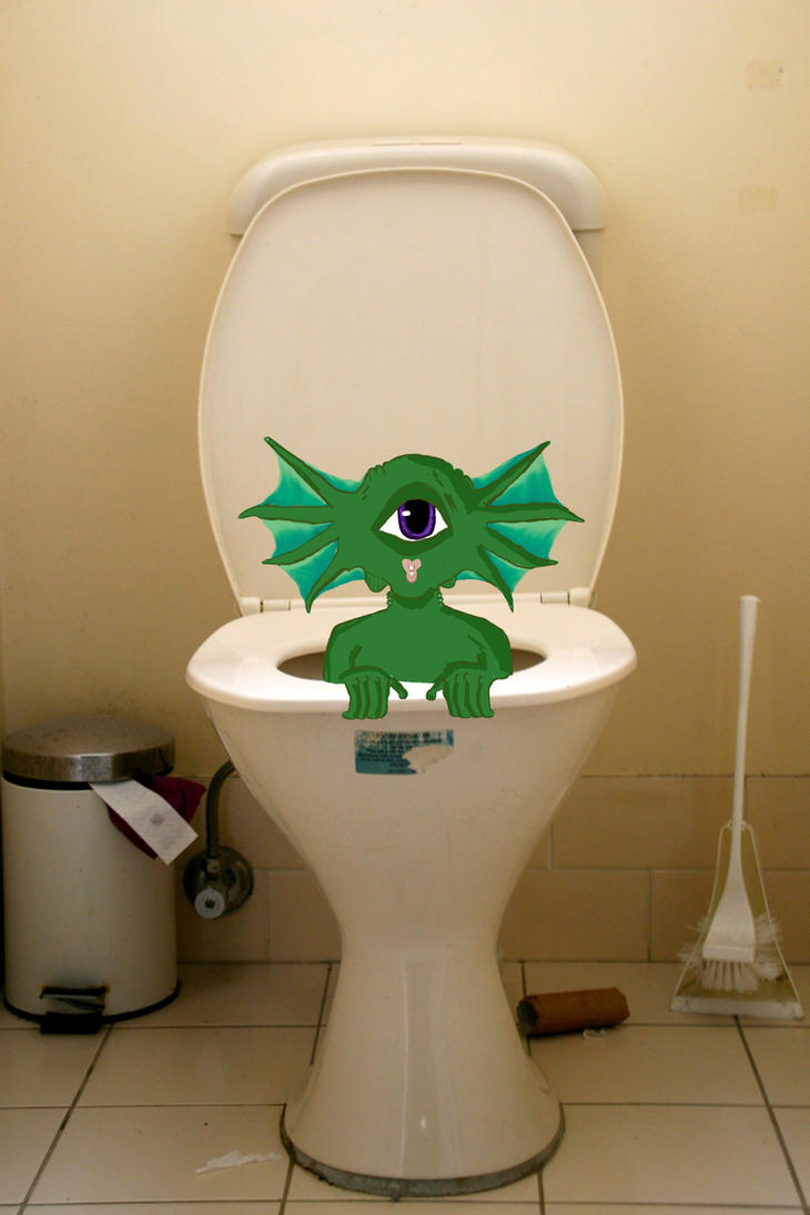 Lavatory Ghoul by AisforOddity