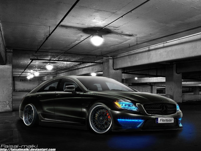 2011 cls 63 amg by faisalmalki on deviantart. Black Bedroom Furniture Sets. Home Design Ideas
