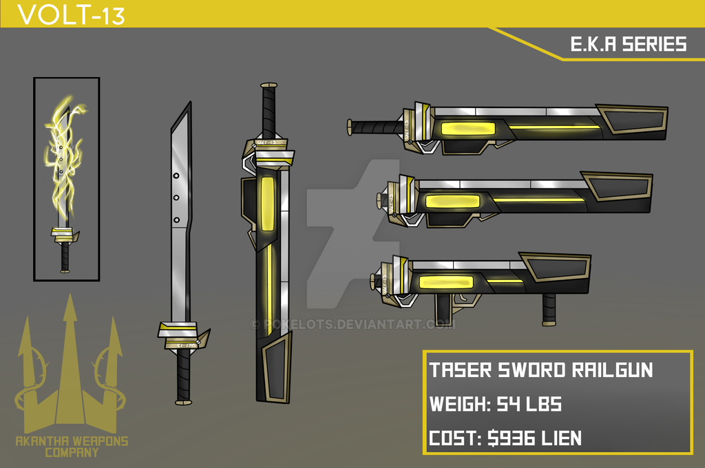 Rwby Oc Weapon By Denalcc1010 Deviantart – HD Wallpapers
