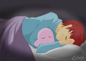 Izzy sleep by eikojonevans