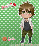 Chibi Kentin By Xiannu - Colors
