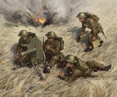 Vickers machine gun by art-bat