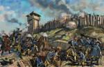 The siege of Poltava 1709