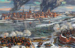 The siege of Riga 1711
