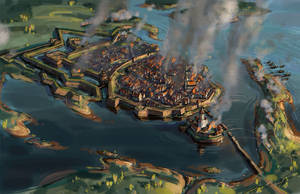 The siege of Viborg 1710 by art-bat