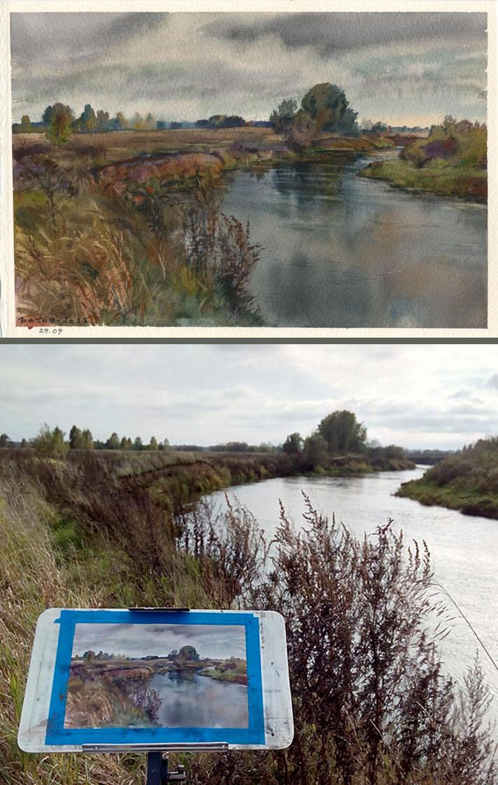 20150929 Klyazma river by art-bat
