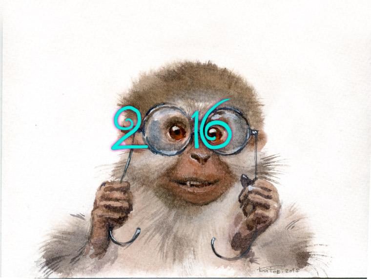 20151214 Monkey 001 2016 760x571 by art-bat