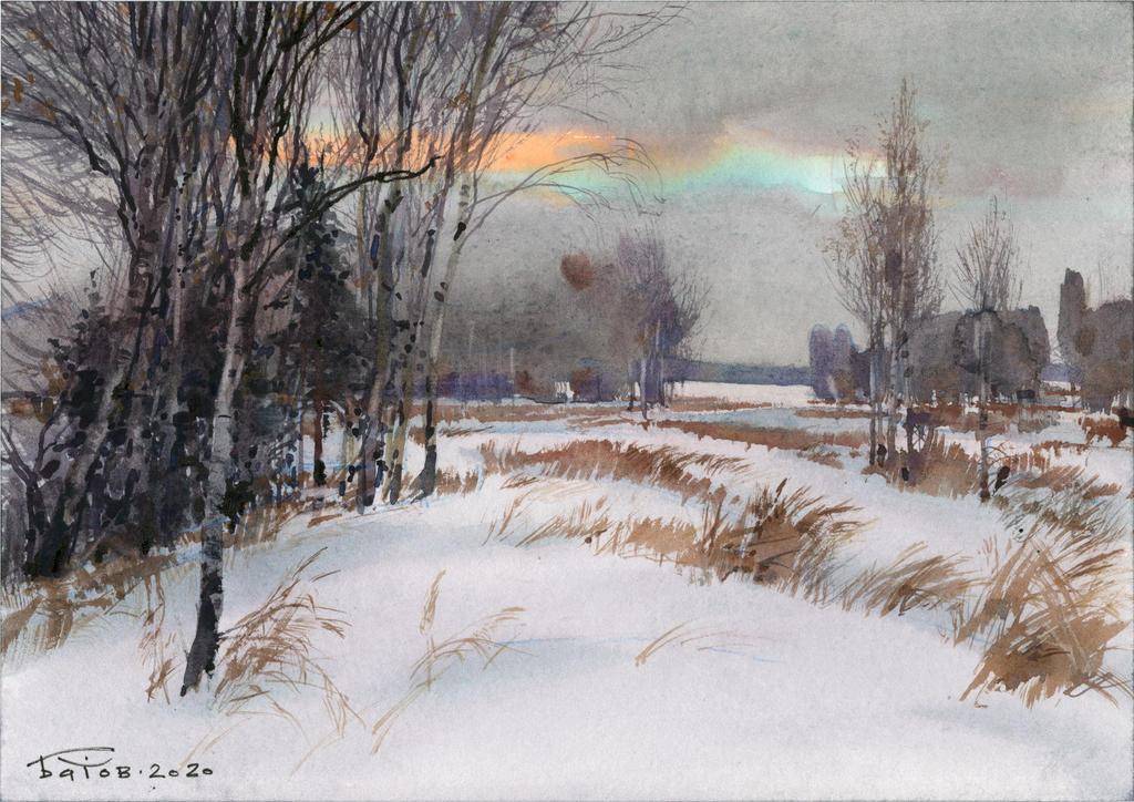 20201225 Snow Field A4
