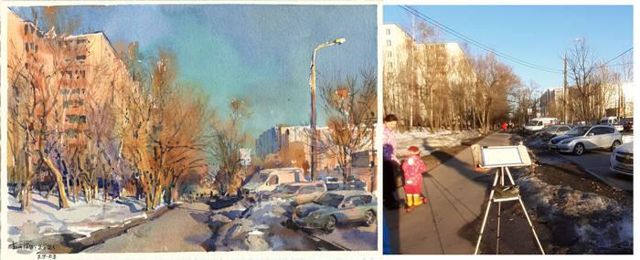20210329 Golubinskaya street. Moscow