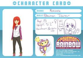 Pokemon Rainbow: Roxie by cayechuu