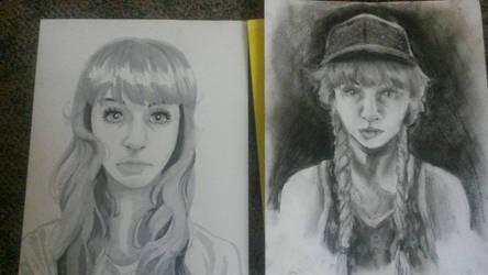 Self Portraits by cayechuu