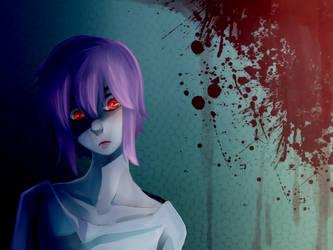Scary Amu? by cayechuu