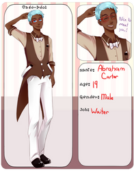 Cafe-Idol: Abraham Carter by cayechuu