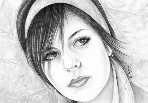 Una bella ragazza by emizael