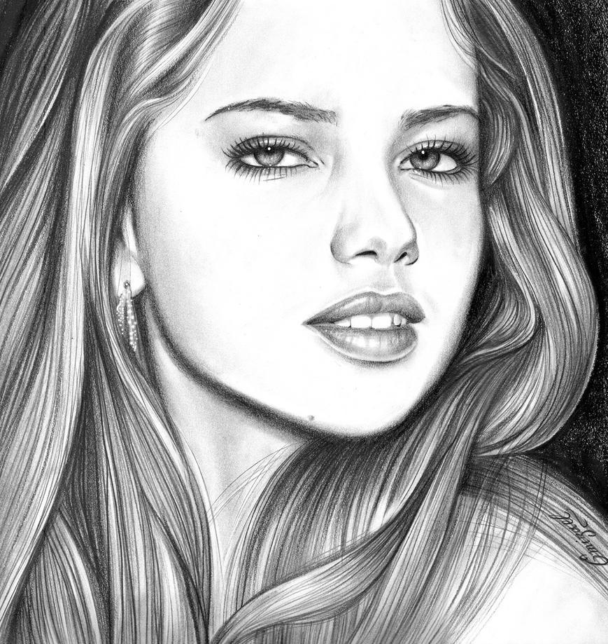 Adriana Lima by emizael