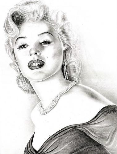 Marilyn Monroe by emizael