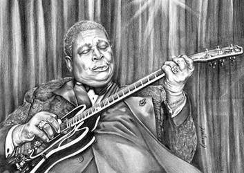 B.B. King by emizael
