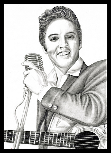 Elvis by emizael