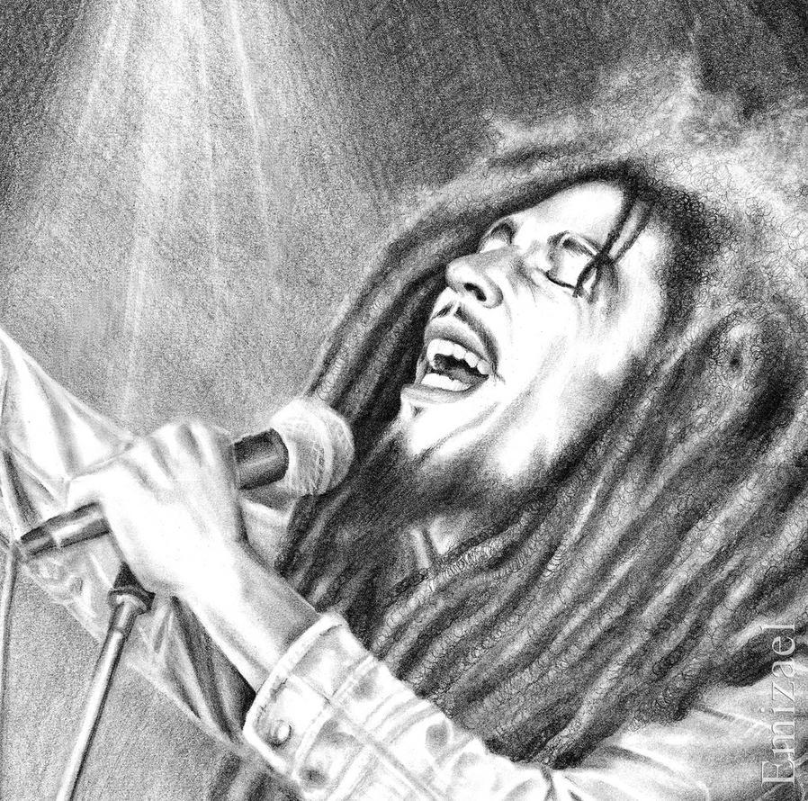 The Legendary Bob Marley by emizael