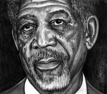 _ Morgan Freeman _ by emizael