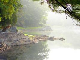 Fishing Rock by emizael