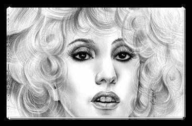 Lady Gaga by emizael