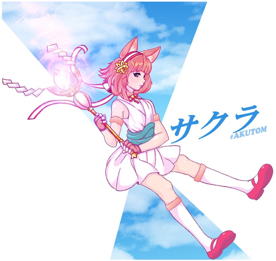 FEH KittenSakura by Akutom