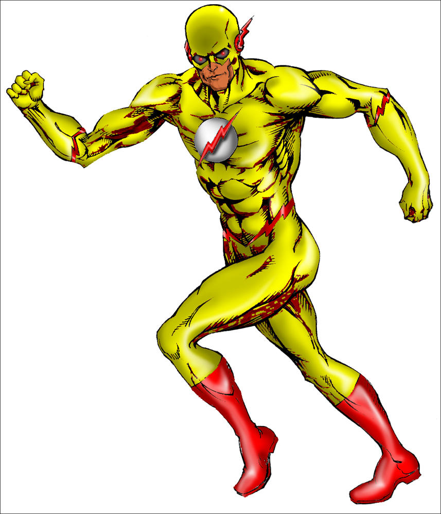 zoom the reverse flash by inkdustrial - Flash Running Coloring Pages