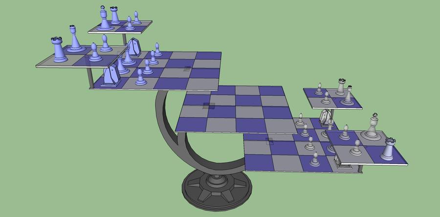 Star trek 3d chess by brebisdeslis on deviantart for 3d star net