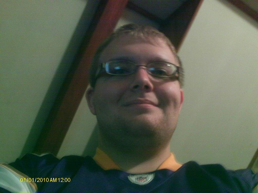 Me in Minnesota Vikings jersey by FootballLover